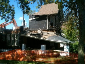 Old Main House Teardown