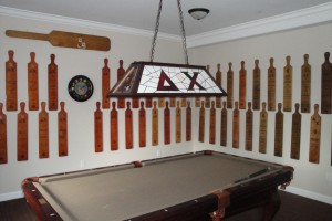 Pool Table Entertainment Room
